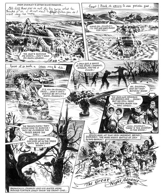 La Grande Guerre de Charlie Portfolio Extrait 1